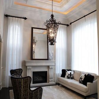 Luxury Home Fireplace